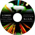 DJ Simmonds Promo DJ Mix - CD Printing Duplication