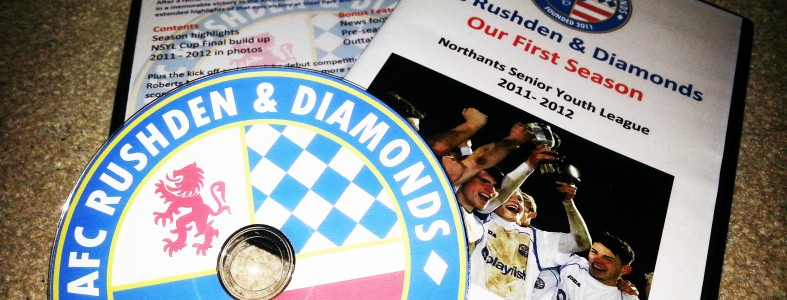 AFC Rushden & Diamonds End of Season Review 2011-2012 DVD Printing Duplication