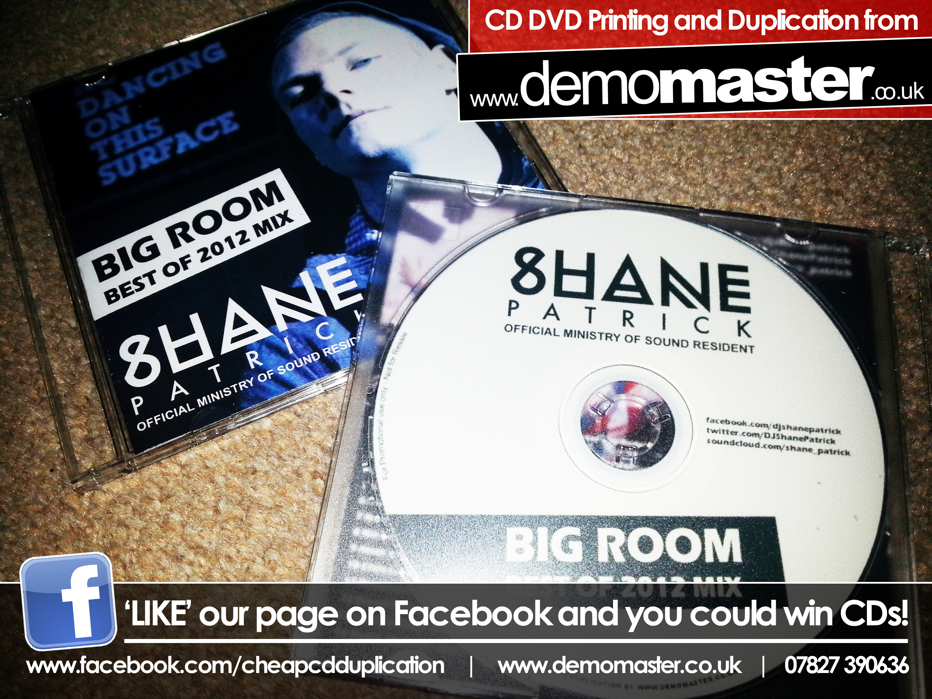 Shane Patrick Big Room Best of 2012