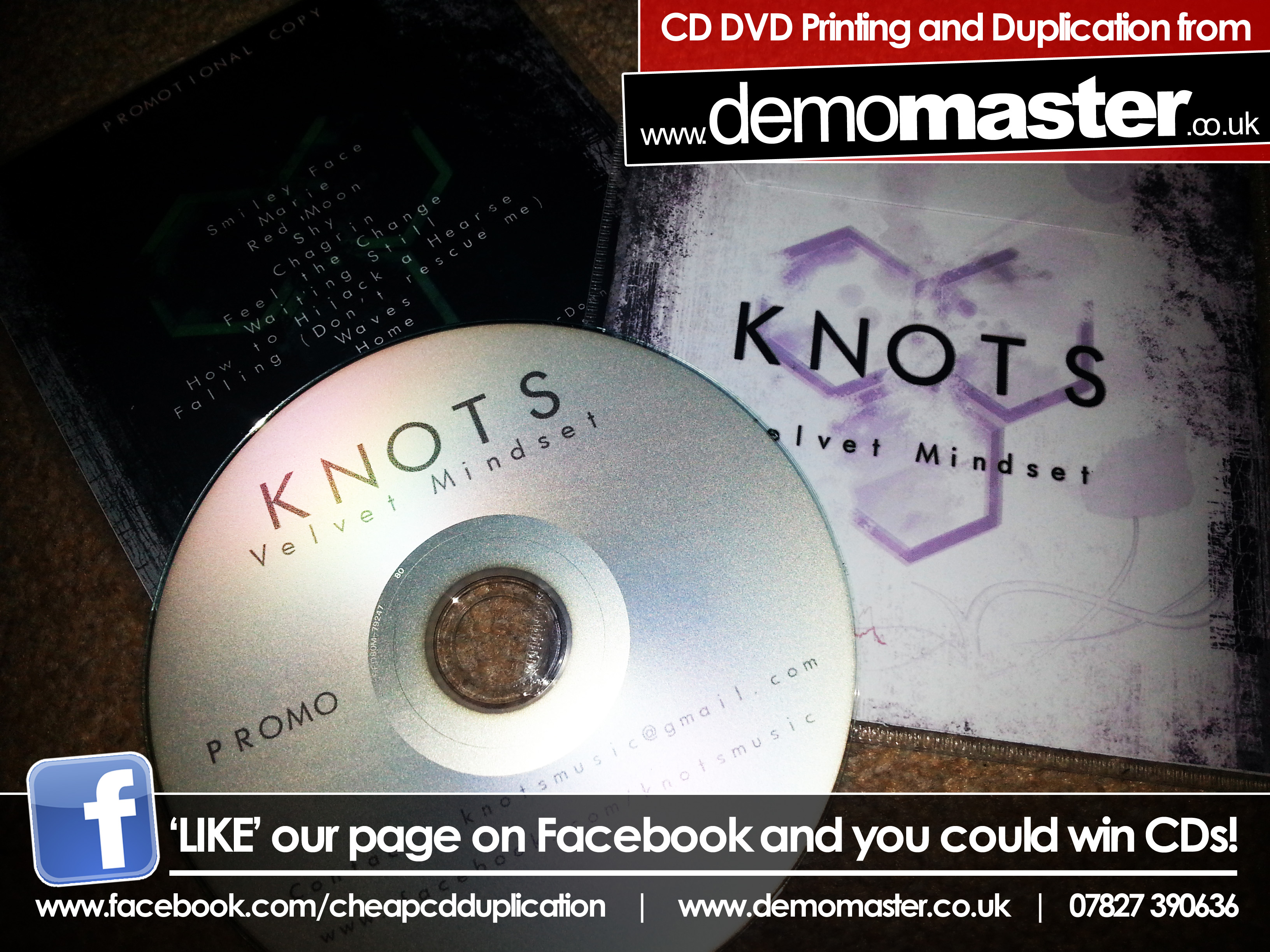 Knots - Velvet Mindset Promo CD