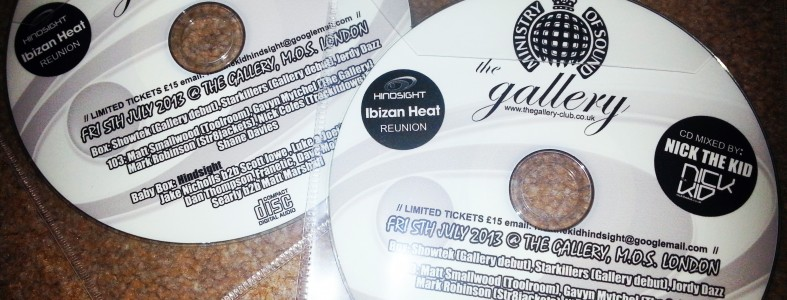 Ibizan Heat Reunion @ The Gallery, Ministry of Sound Mix by Nick the Kid