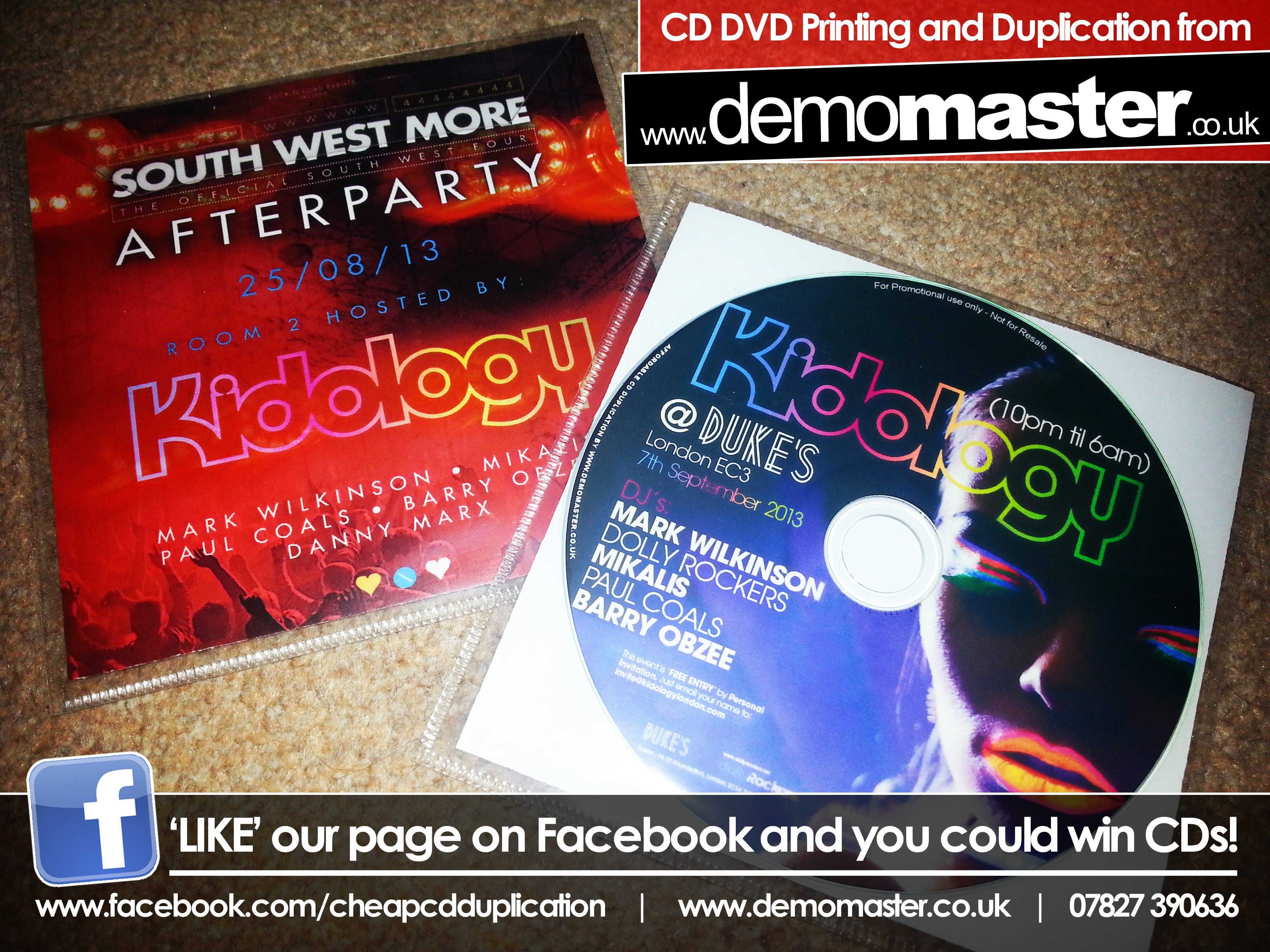 Kidology South West More & Dukes September 2013 mixed by Mark Wilkinson