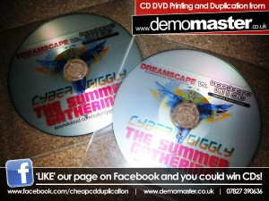 Cyber & Giggly The Sunnmer Gathering Promo Mix - Dreamscape Vs HTID