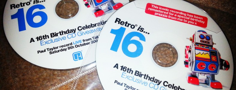Retro is 16 Exclusive Birthday CD Giveaway