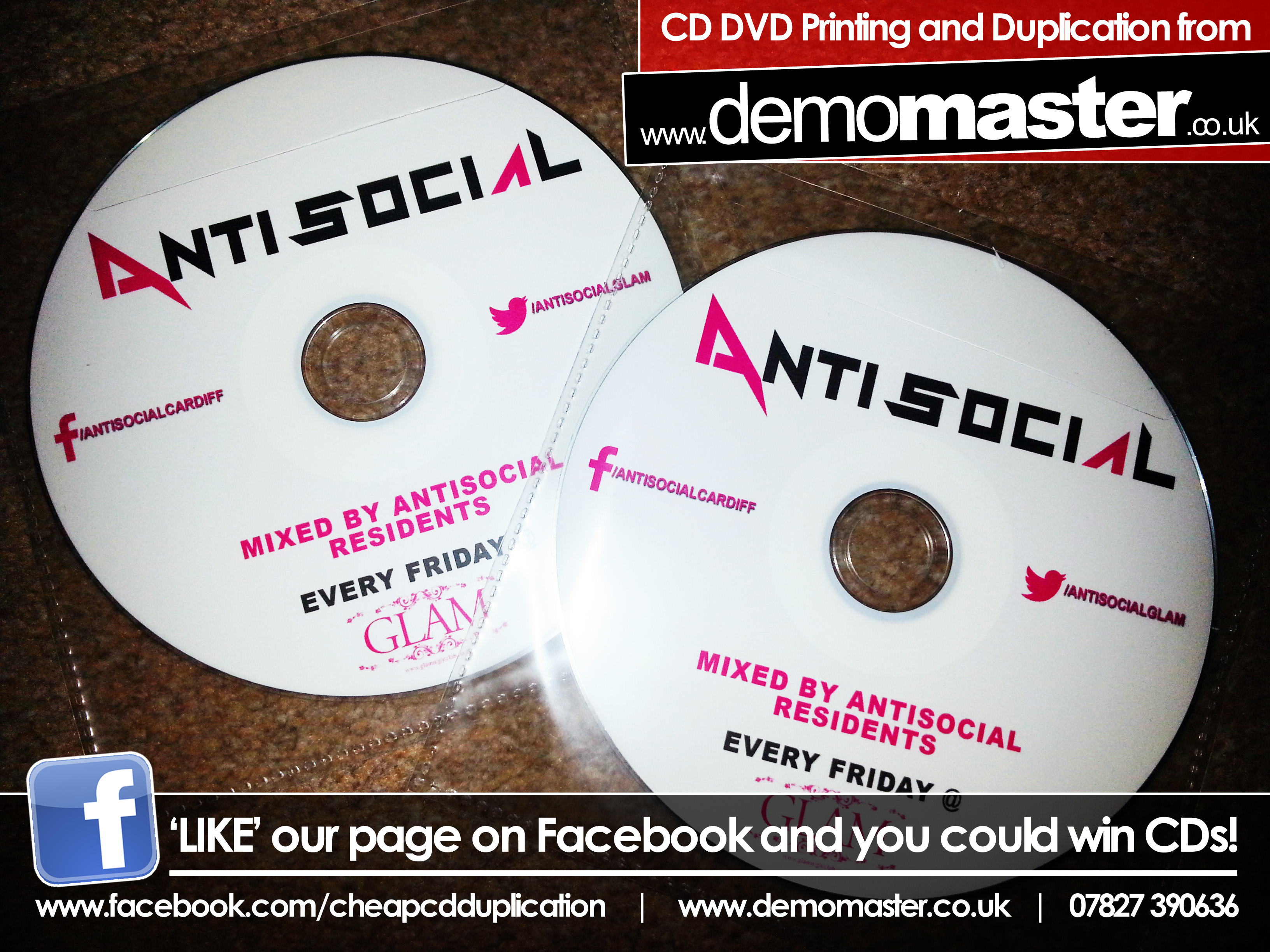 AntiSocial mixed by resident DJs