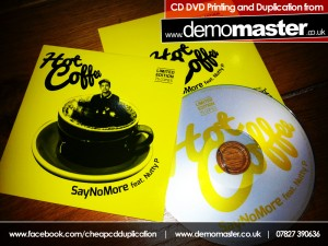 Hot Coffee - Say No More feat. Nutty P