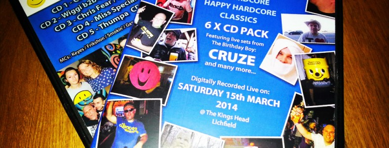 Cruze is 40 6 CD Event Pack