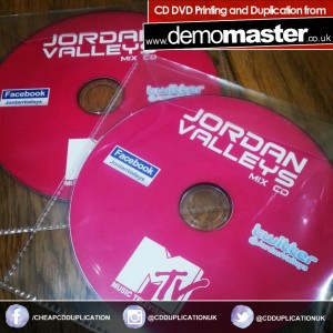 Jordan Valleys Mix CD - Glam Nightclub Cardiff