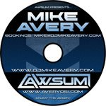 Mike Avery Awsum Promo DJ Mix - CD Printing Duplication
