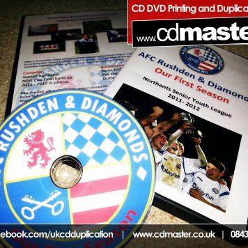 DVD Printing 100% Ink Coverage