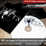 Dark Poets EP CD Printing Duplication