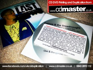 Franco & the Dreadnought 'Last Man Standing' CD Printing Duplication