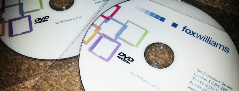 Fox Williams LLP DVD Printing Duplication