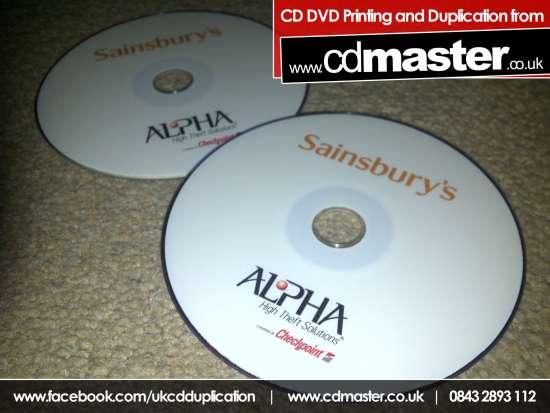 DVD Printing – 20% Ink Coverage