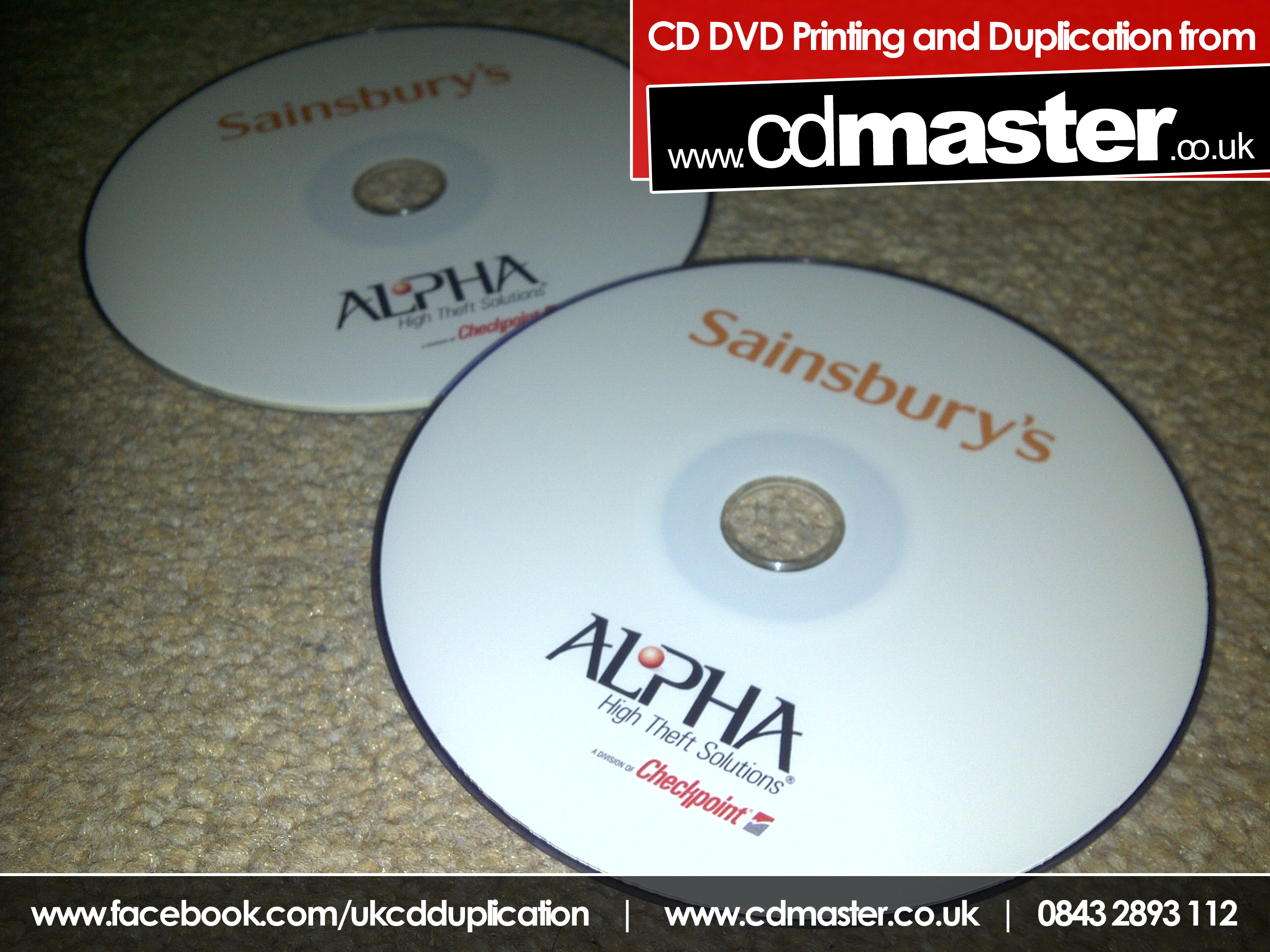 DVD Printing - 20% Ink Coverage
