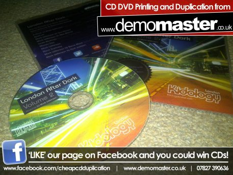 CD Printing - 100% ink coverage with 2pp insert