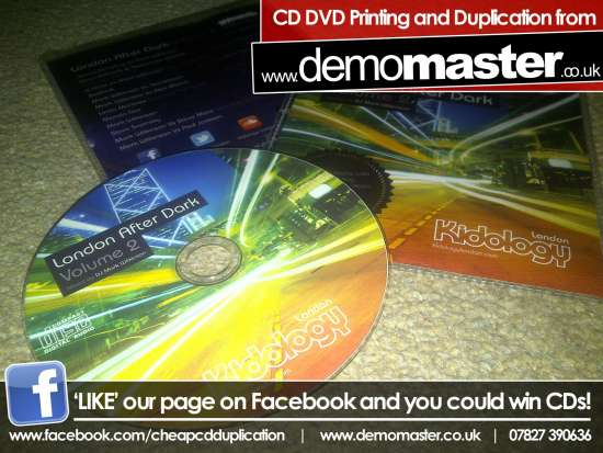 CD Printing – 100% ink coverage with 2pp insert