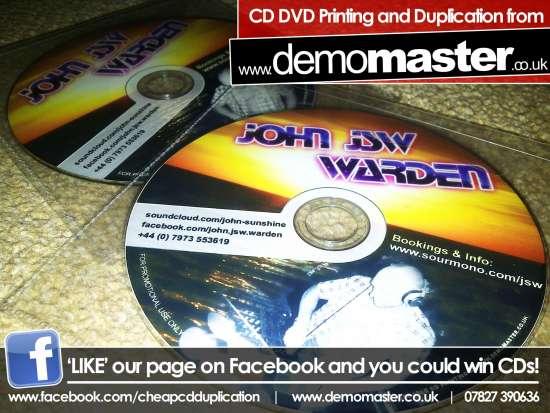 CD Printing – 100% ink coverage