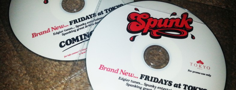 SPUNK - Tokyo Hull's brand new Friday night promo mix