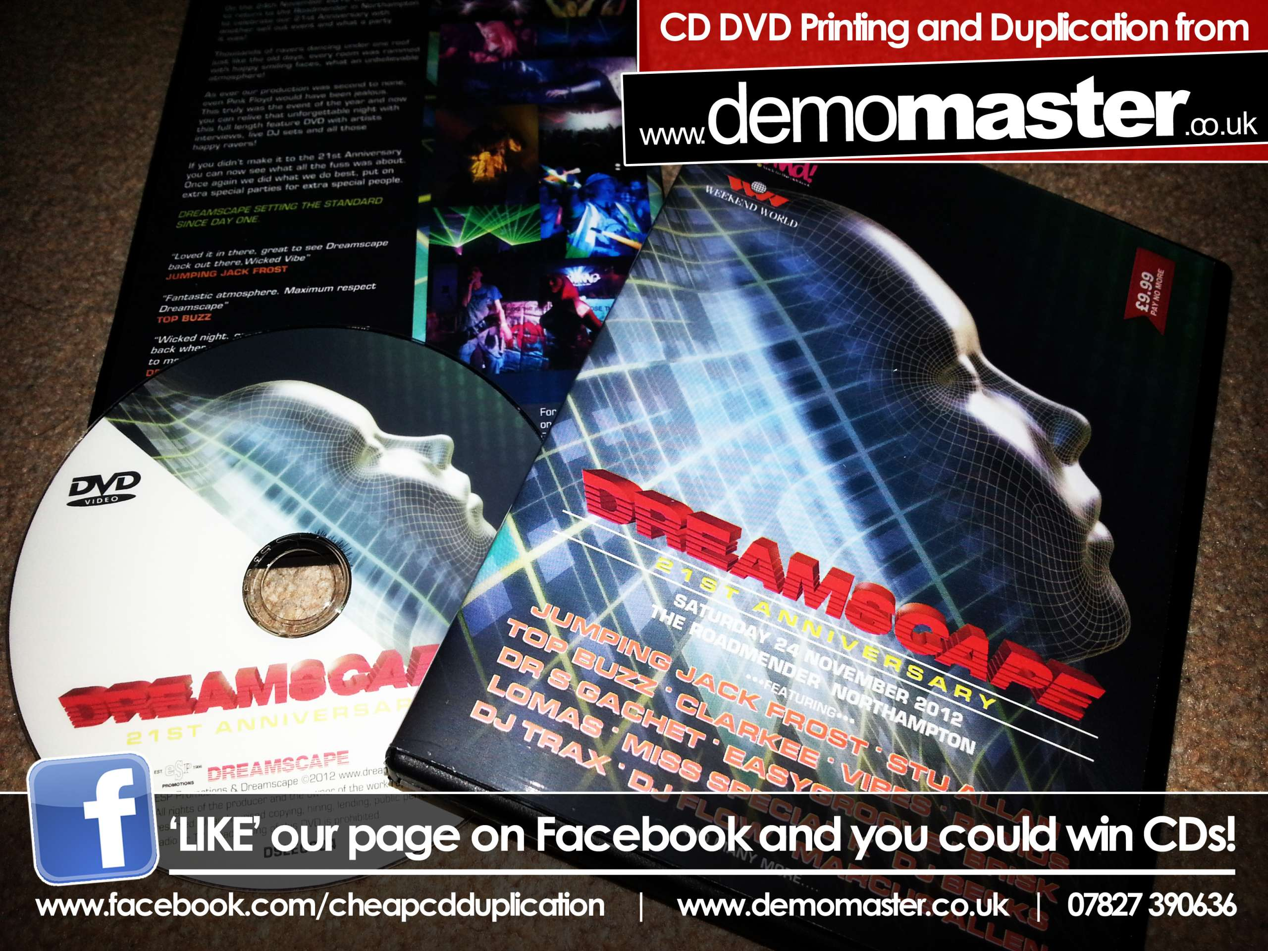 Dreamscape 21st Anniversary DVD