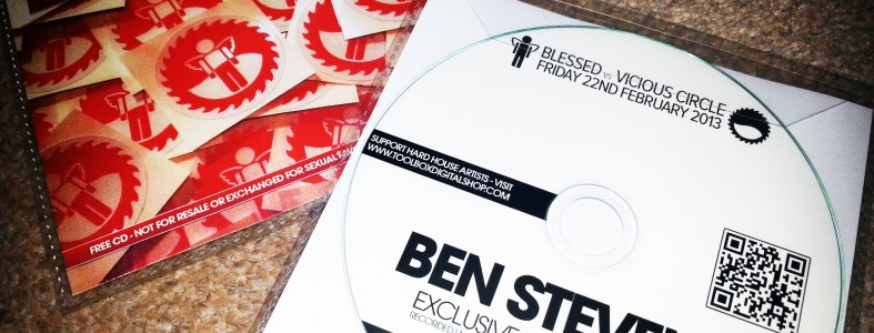 Ben Stevens EXCLUSIVE Blessed Mix CD