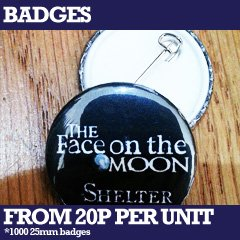 custom printed badges