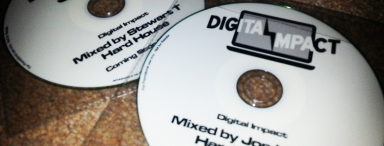 Digital Impact mixed by Jon Hanley (Hard Trance)