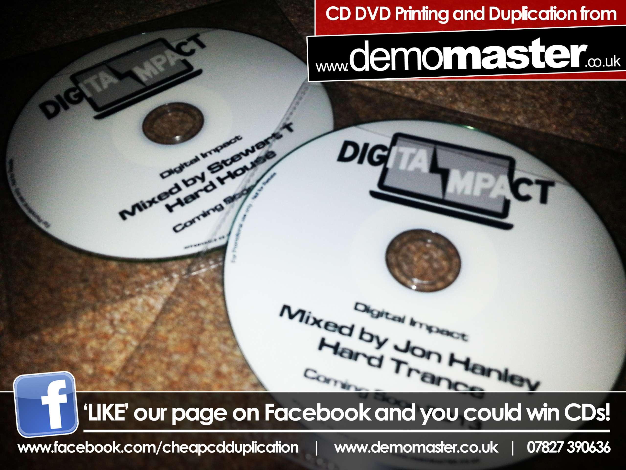 Digital Impact mixed by Jon Hanley (Hard Trance)