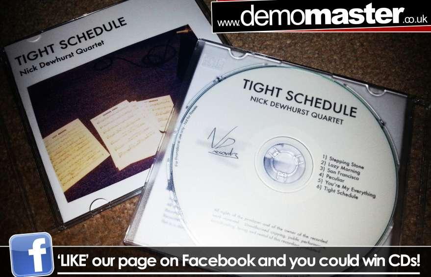 Nick Dewhurst Quartet - Tight Schedule