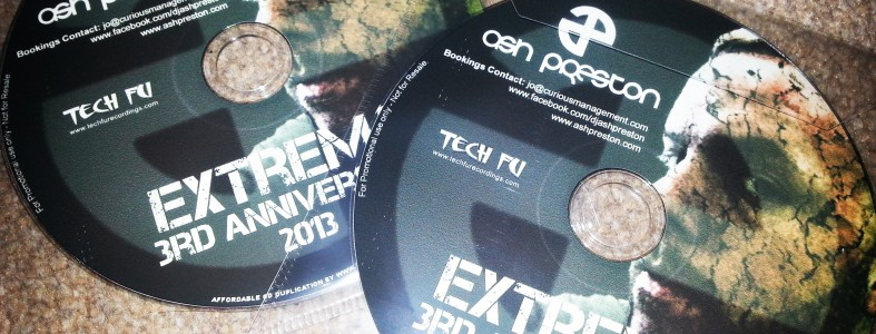 Extrema 3rd Anniversary Promo Mix by Ash Preston