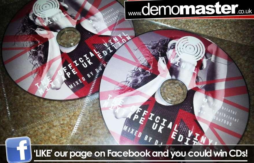The Official Vinyl Mixtape UK Edition mixed by DJ Bilal