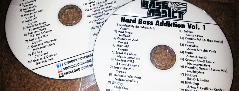 Bass Addict - Hard Bass Addiction Vol.1