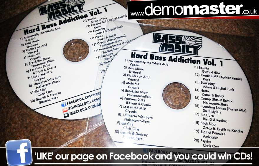 Bass Addict - Hard Bass Addiction Vol.1