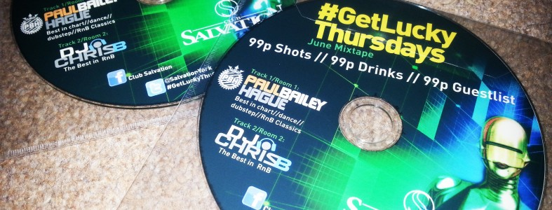 Get Lucky Thursdays June Mixtape