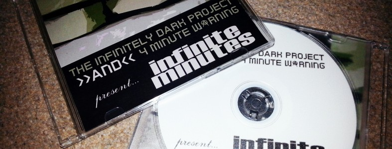 The Infinitely Dark Project and 4 Minute Warning present Infinite Minutes