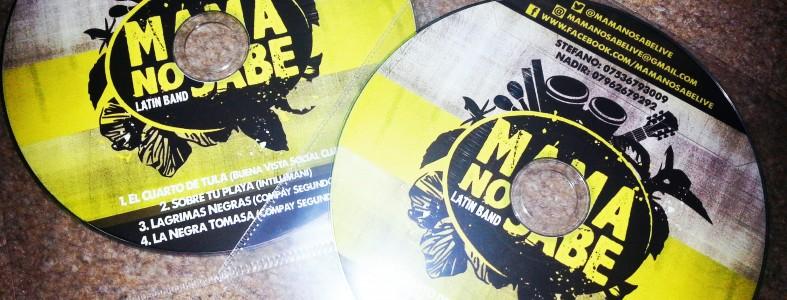 Mama No Sabe Latin Band EP