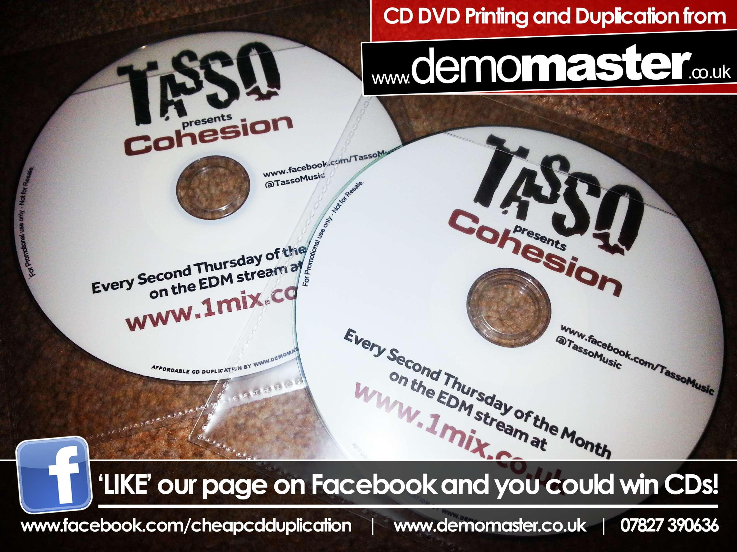 Tasso presents Cohesion