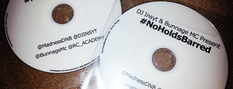 DJ Insyt & Bunnage MC present #NoHoldsBarred