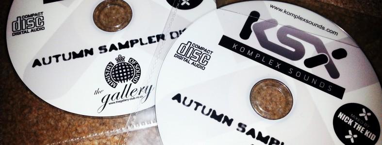 Komplex Sounds Autumn Sampler Disc mixed by Nick the Kid