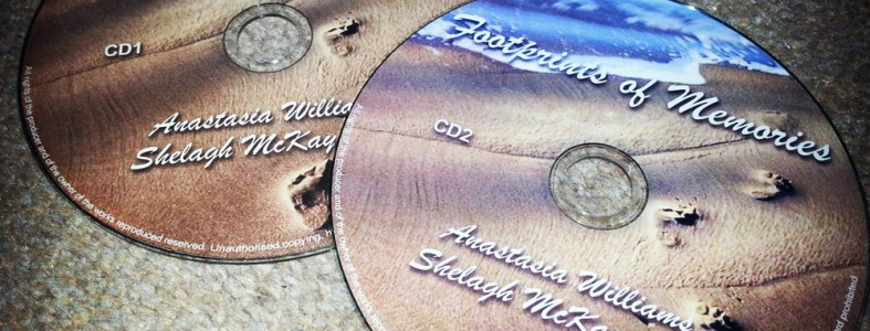Footprints of Memories - Anastasia Williams & Shelagh McKay Jones
