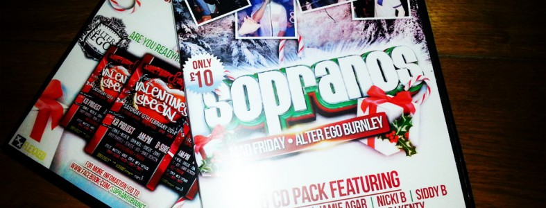 Sopranos Mad Friday 2013 CD Event Pack