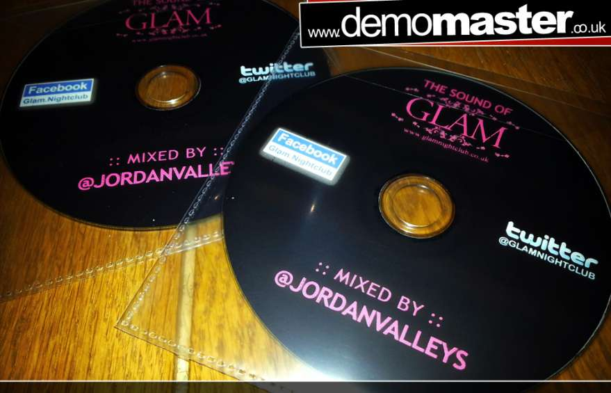 The Sound of Glam mixed by Jordan Valleys