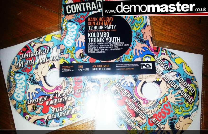 Contradisco Promo Mixes by Monochrome and Jonah Considine