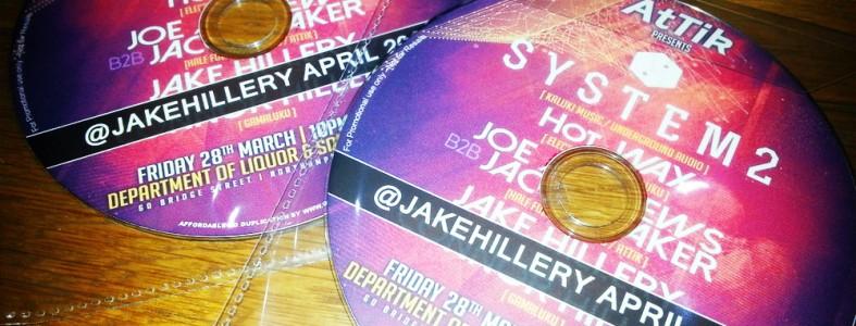 Jake Hillery April 2014 Promo Mix