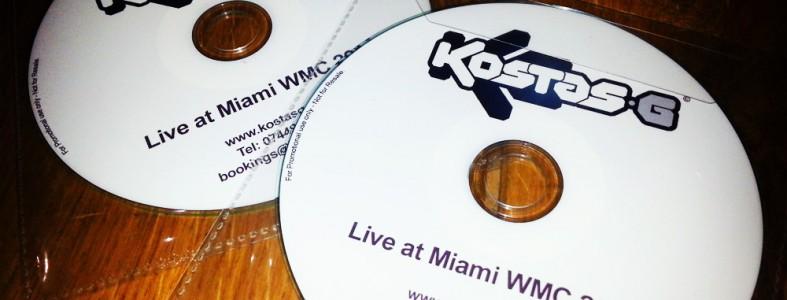 Kostas G - Live at Miami WMC 2014