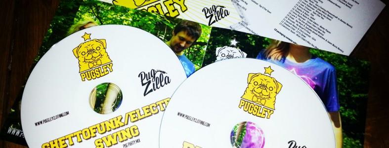 Pugsley Clothing Promotional Mix CDs