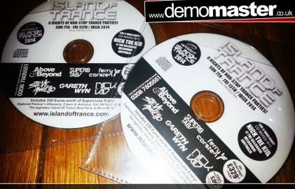 Island of Trance Promo CD mixed by Nick the Kid