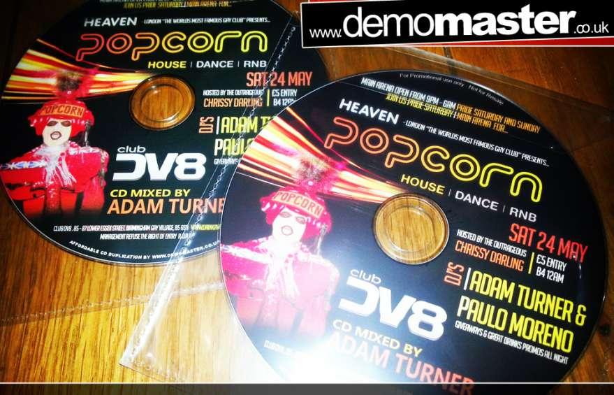 Popcorn @ Club DV8 mixed by Adam Turner