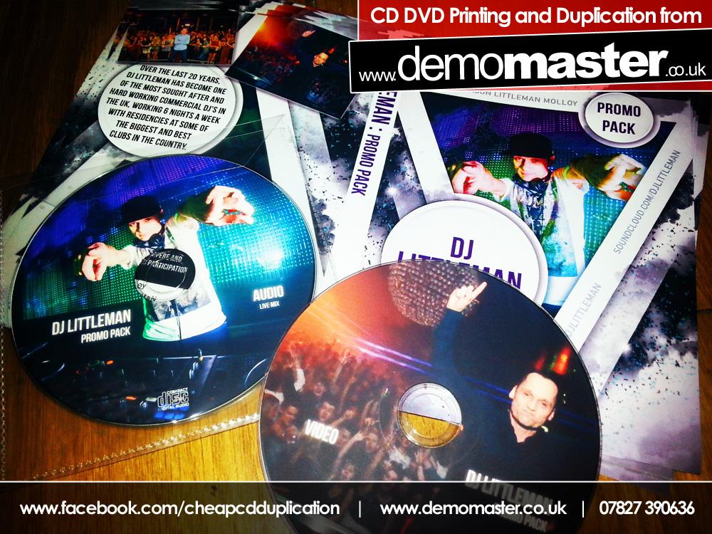 DJ Littleman CD & DVD Promo Pack