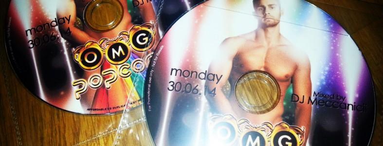 OMG Popcorn London mixed by DJ Meccanicii